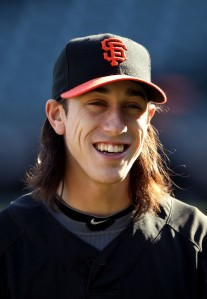 Tim Lincecum - I seriously can't see the flipness in this face